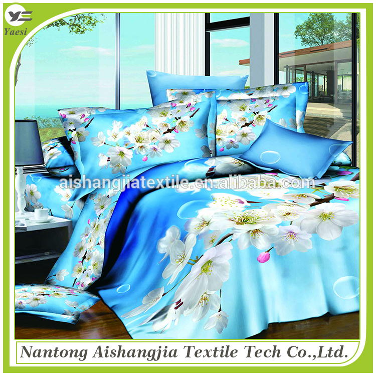 2017 New design hotel bedding set 100% cotton for home use