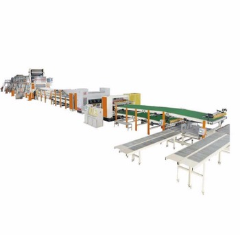 Best price high speed automatic corrugated cartonboard production line