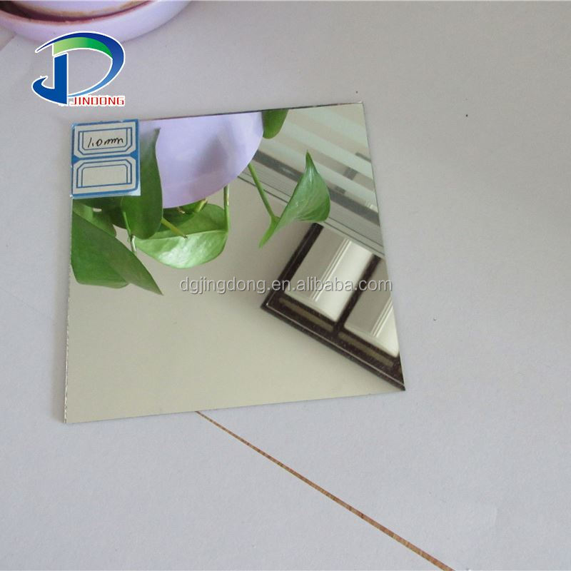 1.5mm-12mm Environmental Quality Waterproof Large Aluminum Sheet Mirror Glass With Back Paint