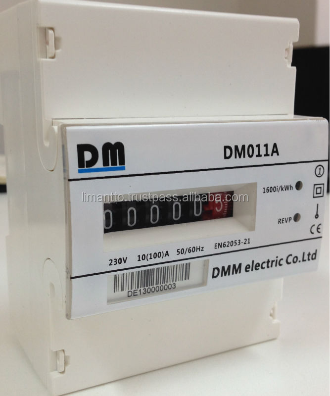 DM 011 A Single phase Energy meter