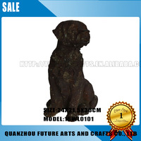 Resin Dog Statue For Garden Decoration (16WL0101)