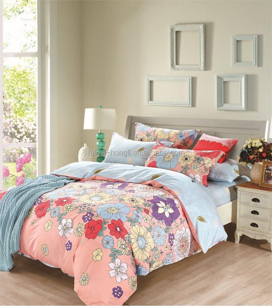 grossiste coton parure de lit imprim acheter les meilleurs coton parure de lit imprim lots de. Black Bedroom Furniture Sets. Home Design Ideas