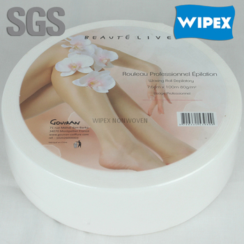 Premium quality Spunlace nonwoven hair removal 100g roll on wax cartridges