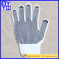 Glove factory wholesale non-slip cotton soldering worker glove