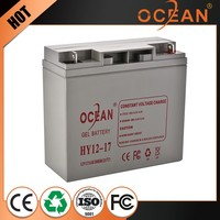 Best quality control most fashionable best quality control 12V 17ah dry cell battery ups