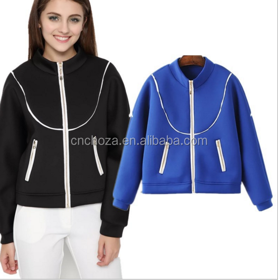 Z58120B Bulk wholesale kids clothing autumn jacket women baseball jacket