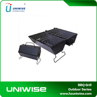 High Quality Folding BBQ Smoker For Camping , charcoal portable folding barbecue grill