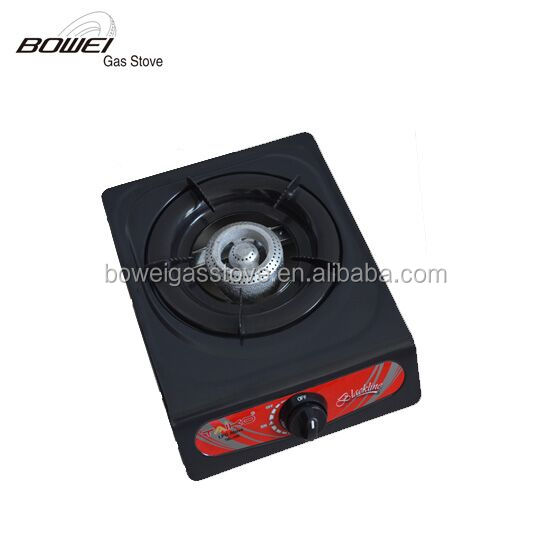 Non-stick industrial gas burner cooktop gas cooker