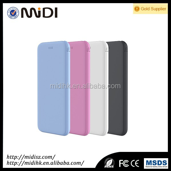 Promotional fashion design Conference power bank gift for all moblie phone