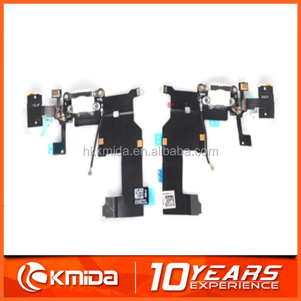 For iphone 5 Dock connector charging port flex cable, Dock flex cable for iphone 5