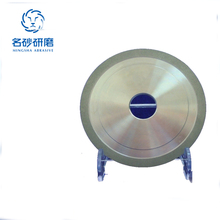 high porosity 1A1 Flat eletroplate wheel for brittle non-metallic materials,ceramics,glass,jewelry,mold surface processing