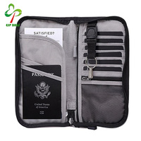 Premium RFID Blocking Wallet Travel Passport
