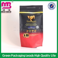 Recyclable material wholesale heat-seal pet dog food packaging bag