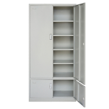 High quality cheap modern office furniture steel mirror voucher file cabinet