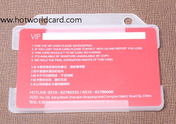 ABS/PP/PE/PC/PMMA/AS/PVC id card holder with printed lanyards