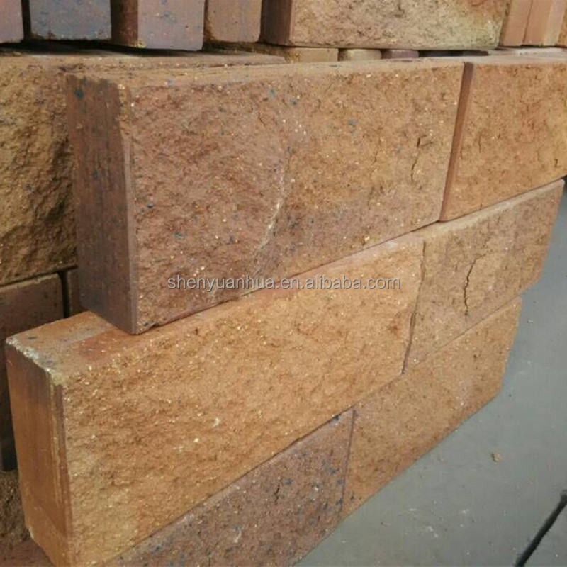 Facade Brick with a rich palette of colors, textures, sizes and styles