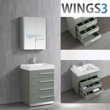 freestanding bathroom storage cabinet painting melamine cabinets with oak trim for sale | WINGS3