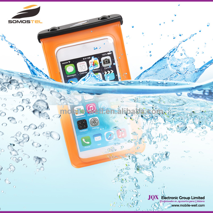 [Somostel] PVC Waterproof case for iPhone 5 waterproof bag for iPhone 6 for Samsung S3 S4 S5 for Sony L36h L39h