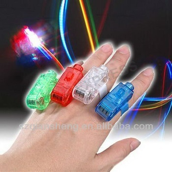 color changing led finger light for Party Time Beams Ring Torch
