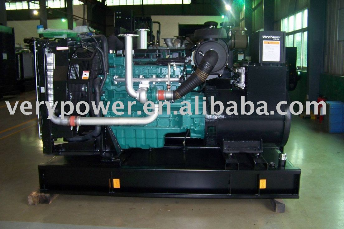 diesel generator set of Daewoo and Marathon alternator with automatic control panel