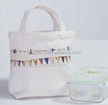 fashion blank promotional heavy cotton canvas tote bag