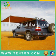 car roof tent GS 280g canvas 2.5m*2.5 CAR AWNING extension with LED light