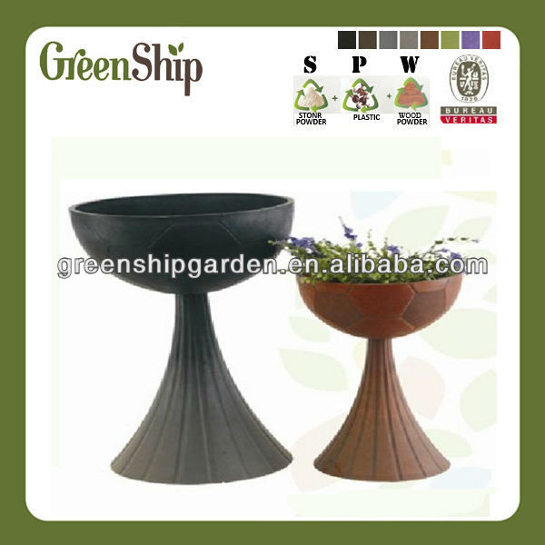 Decorative Garden Plant Pot Painting designs/ 20 years lifetime/ lightweight/ UV protection/ eco-friendly