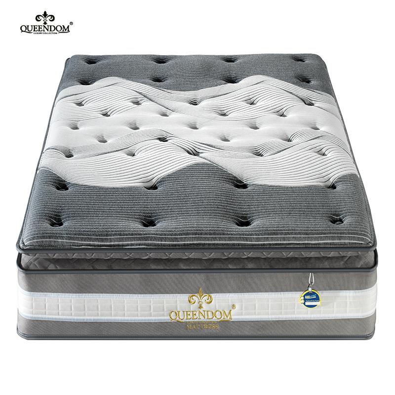 New design guangdong gel memory foam topper pressure relief mattress - Jozy Mattress   Jozy.net