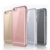 For iphone 6/6s plus mobile electroplate mirror edge clear tpu soft phone case