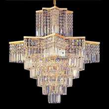 Asfour Crystal art decoration chandelier light for hotel