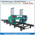 large horizontal band sawmill