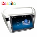 "Dasaita 9"" Android 7.1 2+16GB Quad Core car radio multimedia GPS navigation system player no dvd for Peugeot 301"