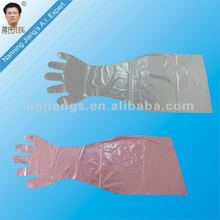 Jiangs disposable arm length color gloves with factory price in China