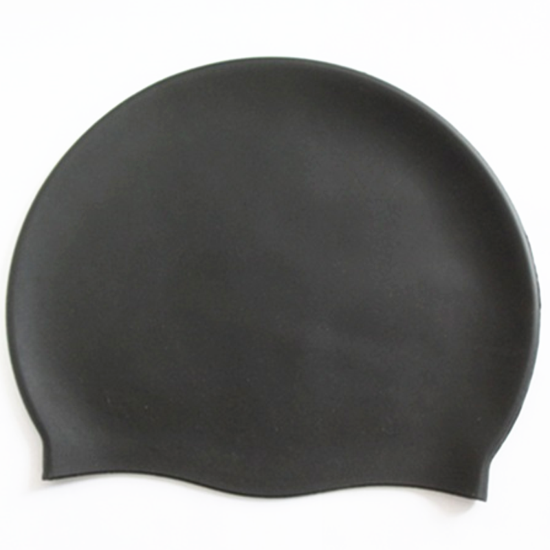 Fashion durable waterproof silicone swim cap
