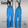 Winter warm keeping man elastic belt ski pants colored breathable polyester braces suspenders