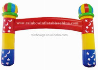 Advertising pvc inflatable outdoor christmas arches