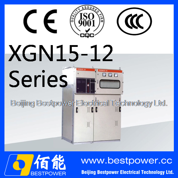 XGN15-12 metal-clad SF6 Insulated Ring Main Unit 33kv