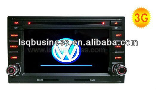 Car DVD for VW Golf4 /Passat with 3G/iphone/RDS receiver/Dual zone/media player,ST-7606