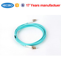st-st dual core optic fiber cable patch cord