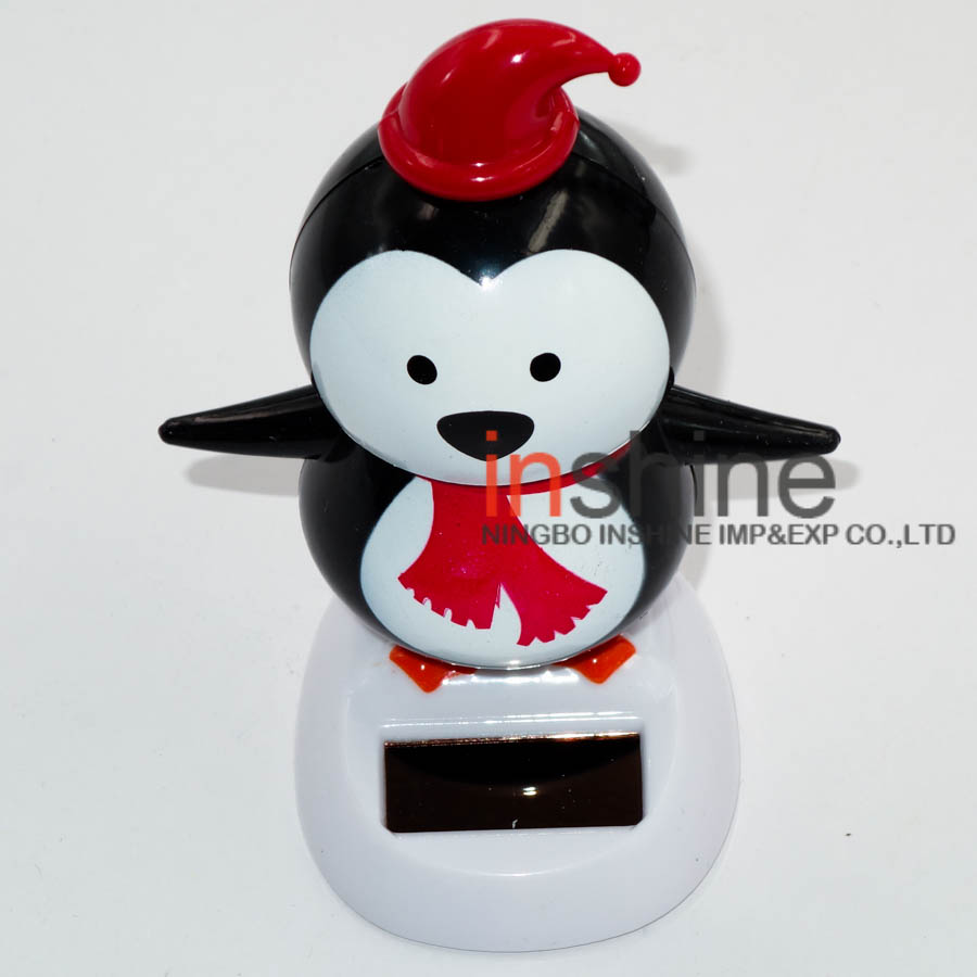 Christmas promotional flip flap solar toy dancing shaking solar toys