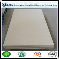 Medium density Lutai Fiber Reinforced Calcium silicate board with low price and good quality