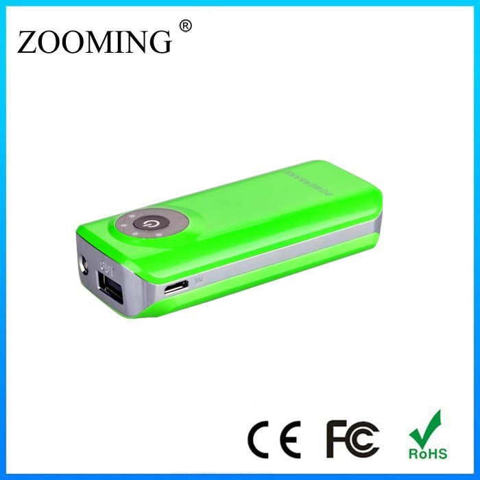 2015 top quality travel charger, fashional and portable small waists mini USB Charger, 4400mAh mobile battery pack