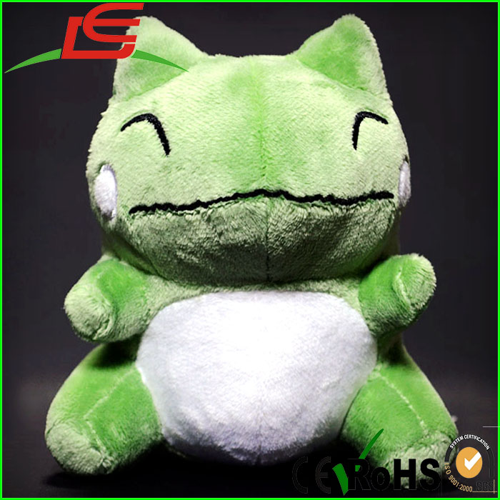 cute pokemon green Frog stuffed plush toy