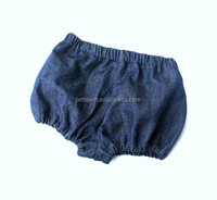 Blue denim baby shorts diaper cover for kids shorts boy shorts