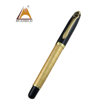 Souvenir pens engraving personalize logo pen Good quality Elegant gold roller pen as gift