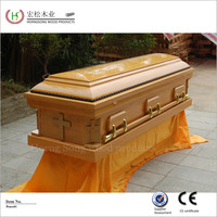 white coffin funeral equipments
