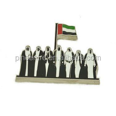 44th UAE national day metal pin badges /national day celebration gifts for UAE