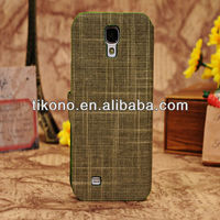Cowboy dark flower stand cases for samsung s4 cover with card slot