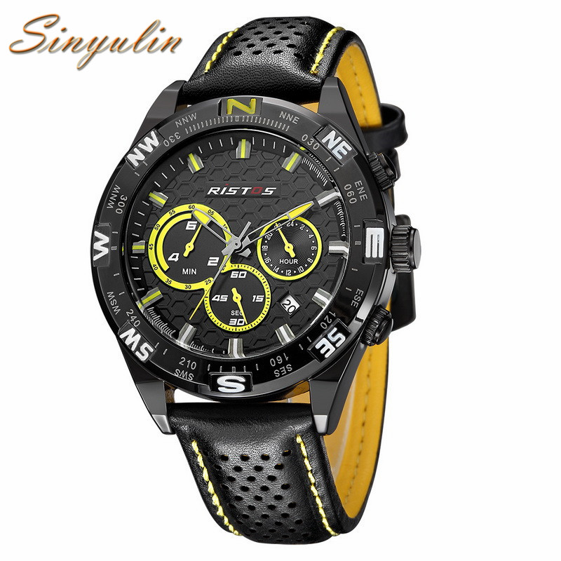 Saat Watch Men Longbo Mens Sports Watch with <strong>Date</strong> and Week Relogio Masculino