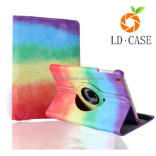 factory cheap price tablet cover for ipad mini multifunctional PU tablet pc case
